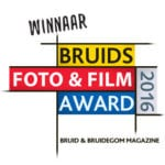 Winnaar Bruids Foto & Film Award 2016