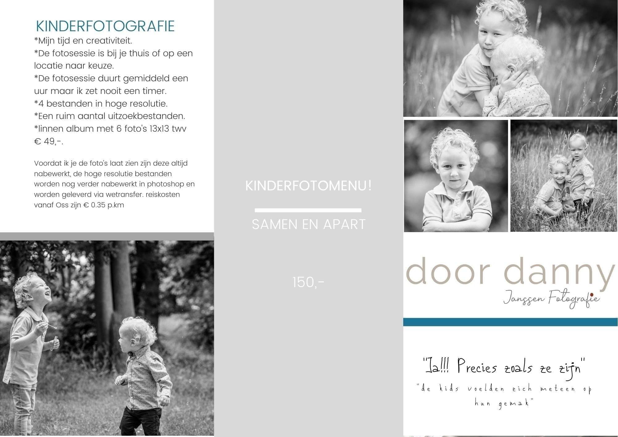 kinderfotografie door danny fotografie in oss