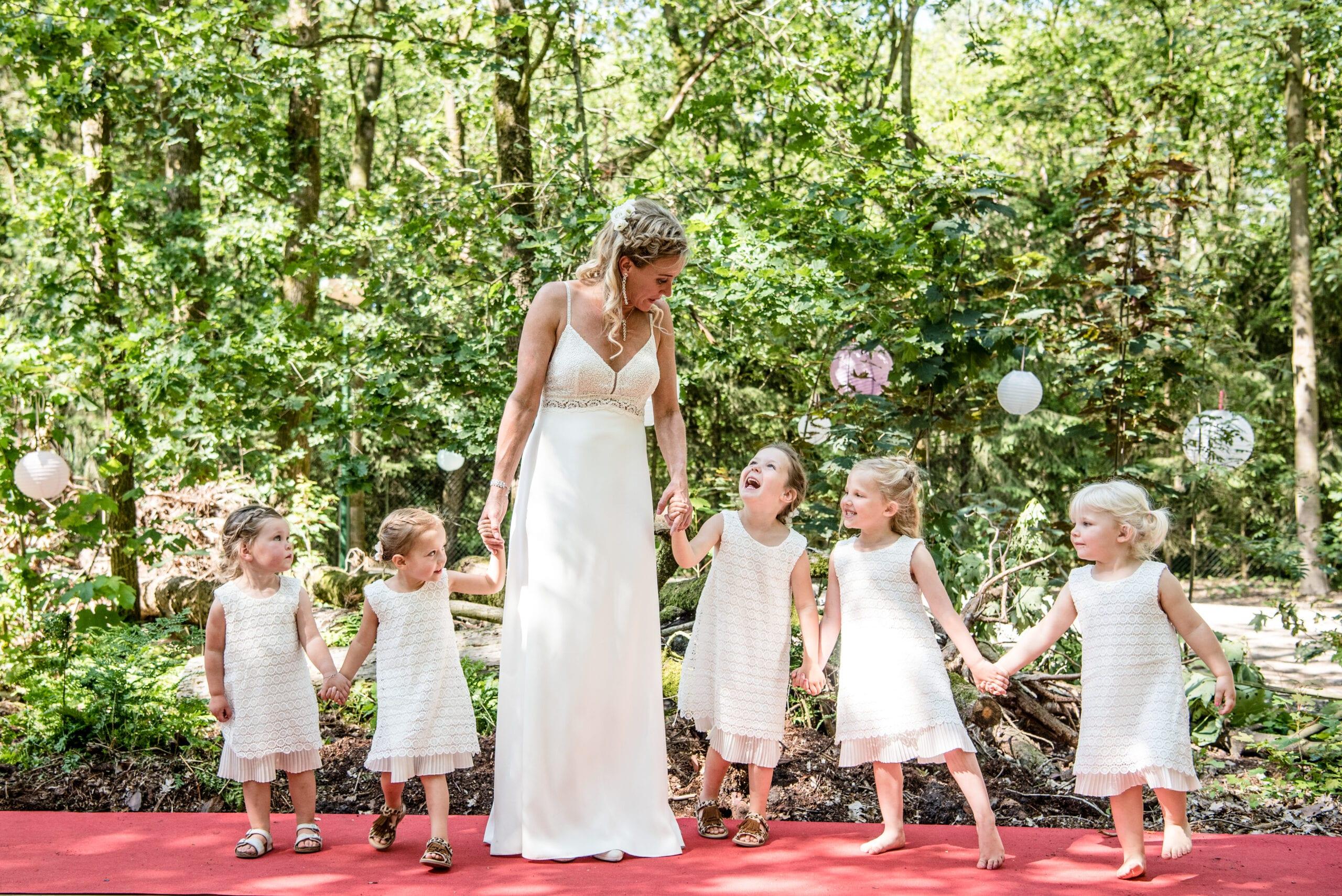 bruidsmeisjes door danny fotografie