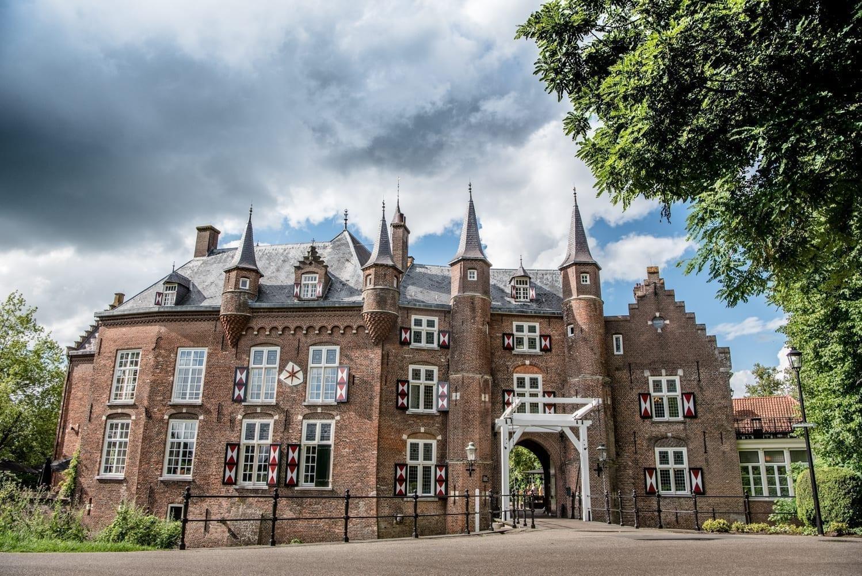 kasteel Maurick door danny bruidsfotografie